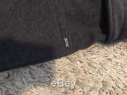 Ugg Men's bathrobe dark grey