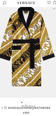 VERSACE Dressing Gown / Bath Robe M Bnwt