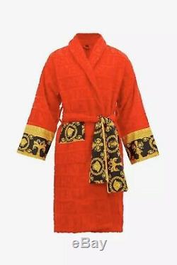 VERSACE I Baroque Bathrobe (RED)
