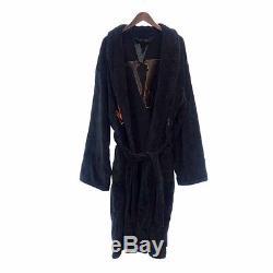 VLONE 17 AW Gown Bathrobe Court black