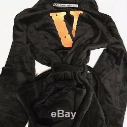 VLONE x TUPAC Pop Up Black Bathrobe One Size SS17 A$AP MOB Fragment Robe