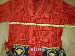 Versace Authentic I Love Baroque Bathrobe Red Size M