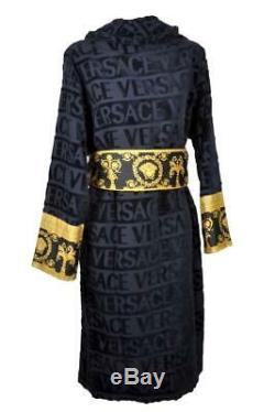 Versace Bademantel Barocco Bathrobe Accappatoio Peignoir Albornoz Gr. XXXL 17361