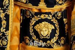 Versace Barocco Bademantel Bathrobe Accappatoio Peignoir Albornoz Gr. XXL 17408