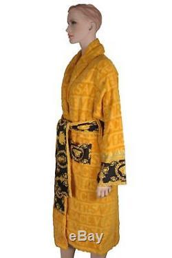 Versace Barocco Robe Bathrobe Accappatoio Peignoir Albornoz Size XXL 17408
