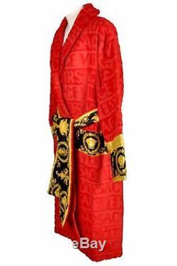 Versace Barocco&Robe Size L Bademantel Bathrobe Accappatoio Peignoir Albornoz 17