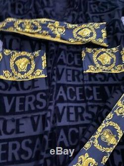 Versace Baroque Bathrobe Mens Dressing Gown Size M Medium £375
