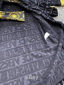 Versace Baroque Bathrobe Mens Dressing Gown Size M Medium £400