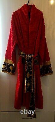 Versace Baroque Bathrobe XL RED With Original Box