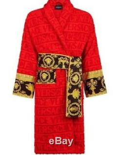 Versace Bathrobe 100% cotton comforter bathrobe, robe, bathing gown, burnouse