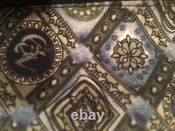 Versace Embellished Baroque Belted Hooded Pure Silk Turkish Cotton Bathrobe XL