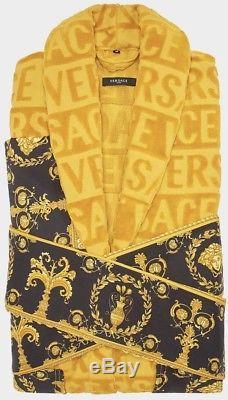 Versace Gold Baroque Bathrobe XL Men Versace Bathrobes Versace