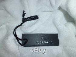 Versace Home Bathrobe Accappatoio Medusa Unisex Size M