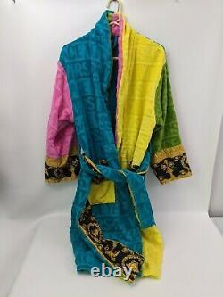 Versace I Love Baroque Multicolor Bathrobe M