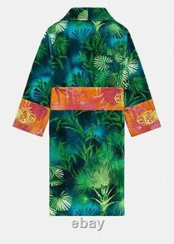 Versace Jungle Print Bathrobe Multicolor Size L