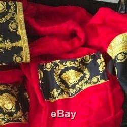 Versace Medusa Bathrobe New In Box Original Unisex Luxury Lover Gift Fast Ship