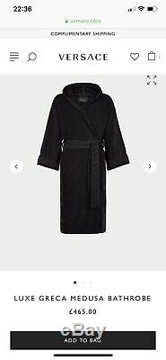 Versace Mens Bathrobe / Robe / House Coat