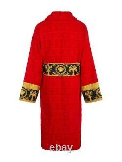 Versace Red Bath Robe In box -XL