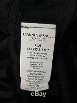 Versace Robe Barocco Bathrobe Accappatoio Peignoir Albornoz SIZE L 17332
