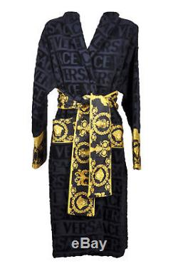 Versace Robe Barocco Bathrobe Accappatoio Peignoir Albornoz SIZE L 17358