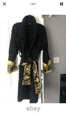 Versace bath robe