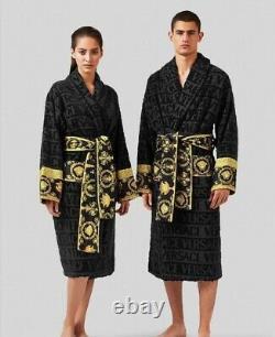 Versace bathrobe 100% cotton Robe comforter bathrobe bathing burnouse gift home