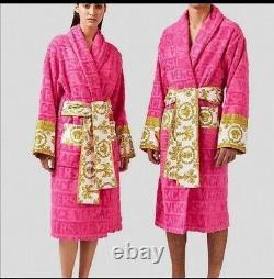 Versace bathrobe 100% cotton Robes comforter bathrobe bathing Bornose confort