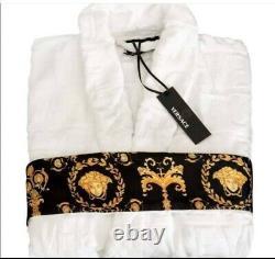 Versace bathrobe 100% cotton Robes comforter bathrobe bathing Women's Day