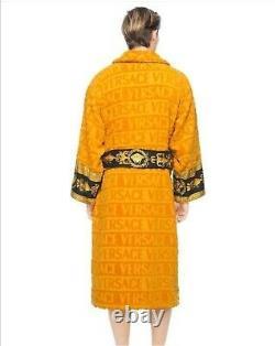 Versace bathrobe 100% cotton Robes comforter bathrobe bathing burnouse happy