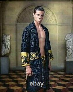 Versace bathrobe 100% cotton Robes comforter bathrobe bathing gown home fit