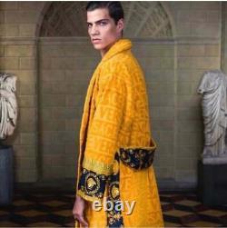 Versace bathrobe 100% cotton Robes comforter bathrobe bathing gown home fit home