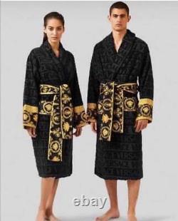 Versace bathrobe 100% cotton Robes comforter bathrobe bathing unisex Women's Day
