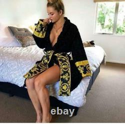 Versace bathrobe 100% cotton comforter Home Luxury Unisex dressing Gift towel