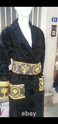 Versace bathrobe black size L