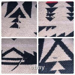 Vintage Beacon Blankets Cypress Bath Robe Cotton Aztec Geometric Sz S/M