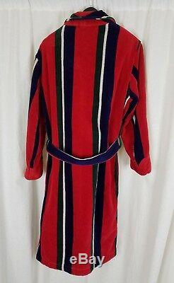 Vintage Brooks Brothers Heavyweight Terrycloth Bath Robe Tie Sash Belted Mens S