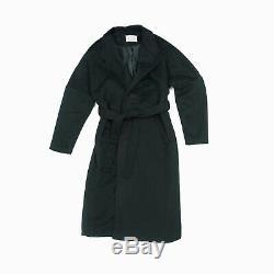 Vintage Martin Margiela Belted Black Coat Bathrobe Early 2000s 90s