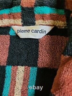Vintage Pierre Cardin Terry Cloth Bath Robe Lounge One Size