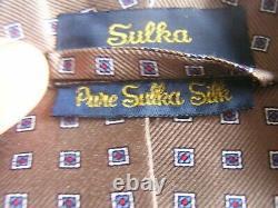 Vintage Sulka Mens Silk Bath Robe Excellent Condition Mens Large