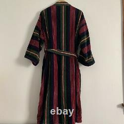 Vintage Terry Cloth Robe One Size Thick Cotton Bathrobe by Norm Thompson