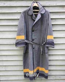 Vintage West Point USMA Cadet Wool Bath Robe Size Med to Large