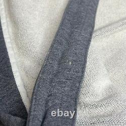 Wings + Horns Ace Hotel NYC Patch Boulder Grey Bathrobe Sleep Robe One Size